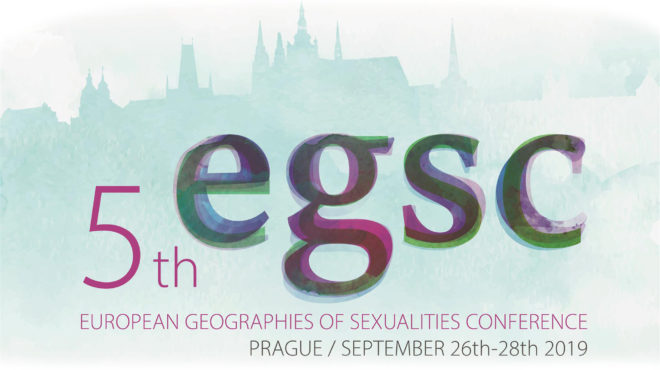 Info about 5th European Geographies of Sexualities Conference